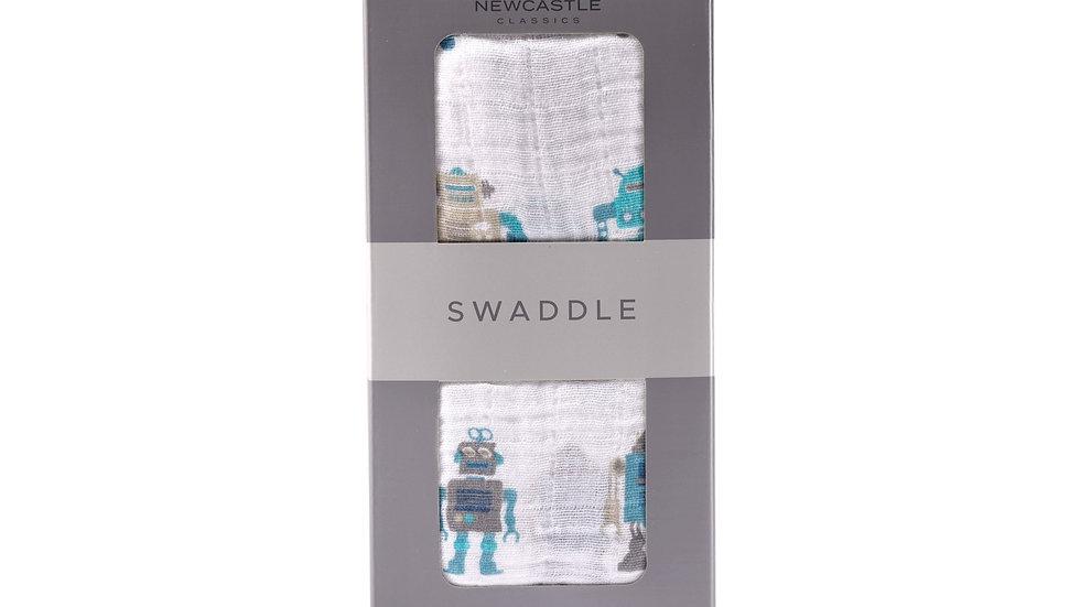 Robot Cotton Swaddle