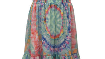 Girls Tie Dye Skirt Set