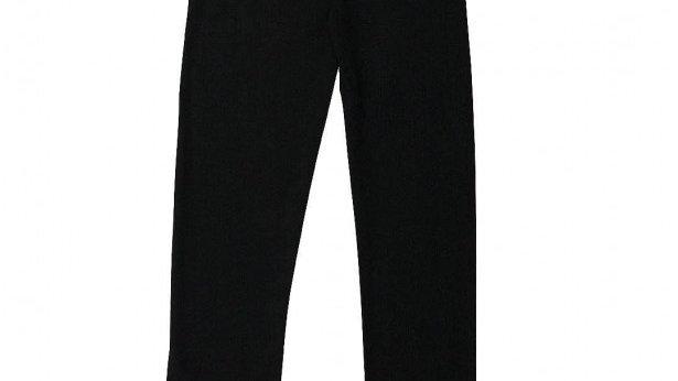 Black ruffle legging