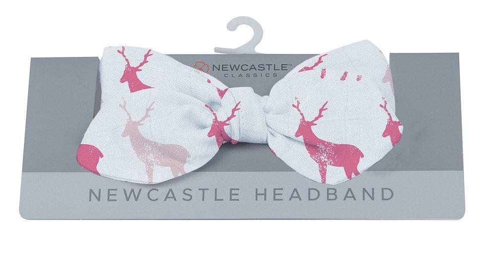 Pink Deer Newcastle Headband