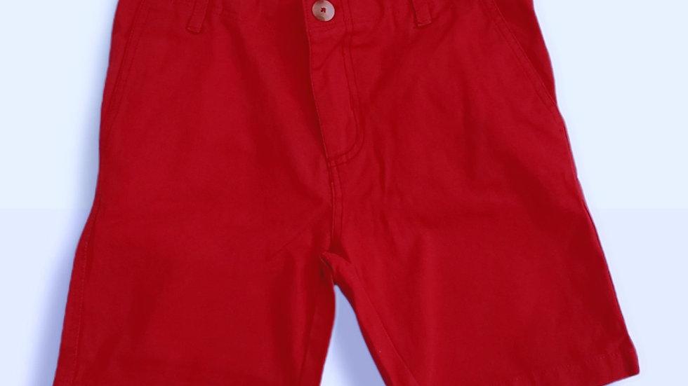 Twill Short Nantucket Red