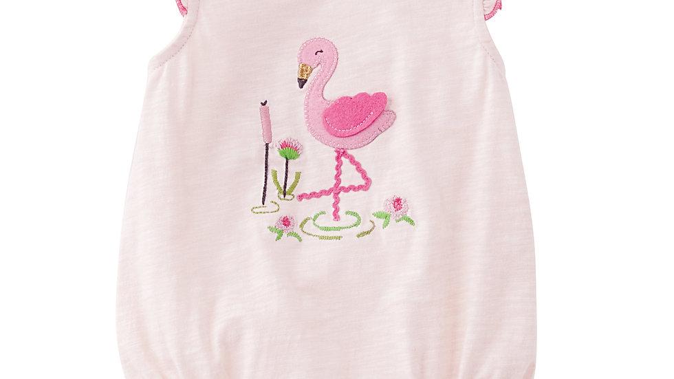 Felt Flamingo Bubble