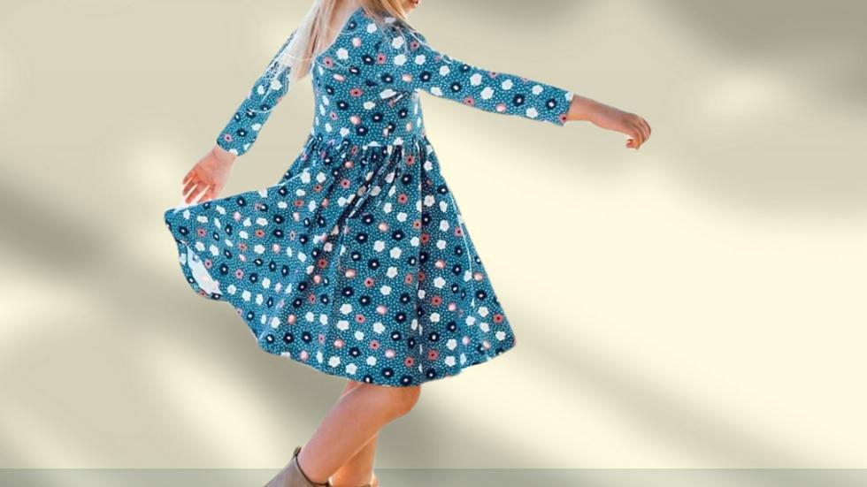 Poppy Seed Twirl Dress