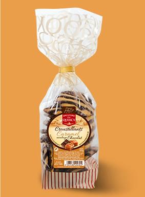 🇫🇷 CROUSTILLANTS CARAMEL CHOCOLAT  150g