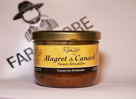 🇫🇷 MAGRET DE CANARD sauce forestiere ( 400g)