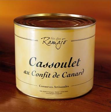🇫🇷 CASSOULET AU CONFIT DE CANARD ( 2000g)