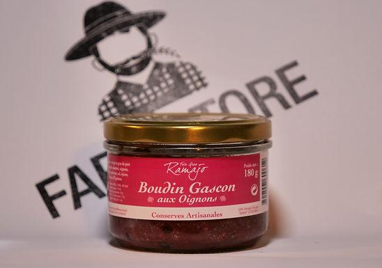 🇫🇷 BOUDIN GASCON aux oignons ( 180g)