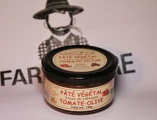 🇫🇷 PATE VÉGÉTAL (tomate - olive )  150g