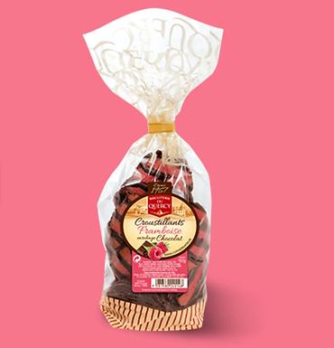 🇫🇷 CROUSTILLANTS FRAMBOISE CHOCOLAT 150g