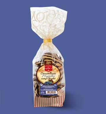🇫🇷 CROUSTILLANTS MYRTILLE CHOCOLAT 150g