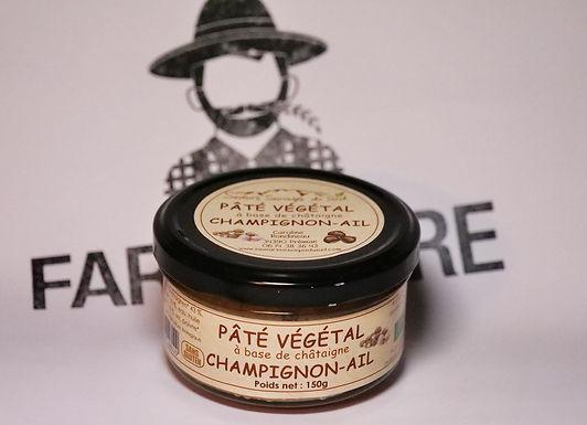 🇫🇷 PATE VÉGÉTAL (champignon - ail )  150g