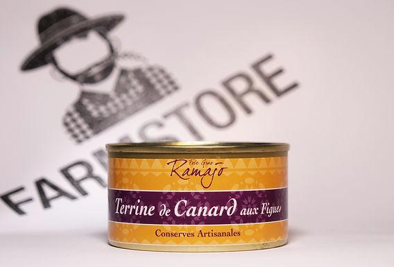 🇫🇷 TERRINE DE CANARD AUX FIGUES (120G)