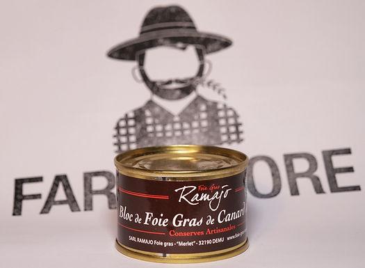 🇫🇷 BLOC DE FOIE GRAS de canard Gersois  (65g)