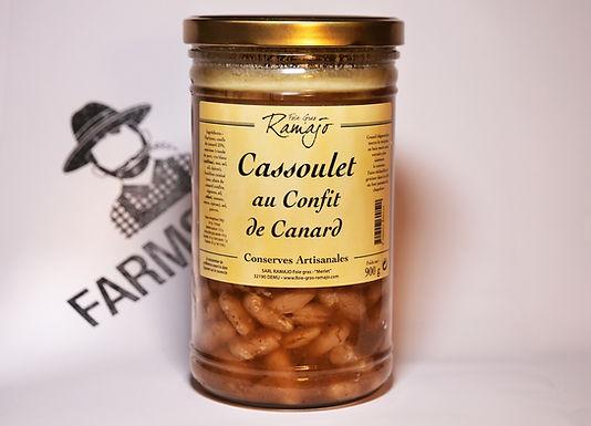 🇫🇷 CASSOULET AU CONFIT DE CANARD ( 900g)