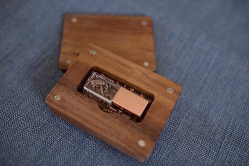 BlackWood USB Box