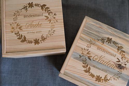 Bridal Party Gift Box
