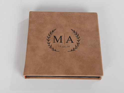 Soft Leather Guest Book