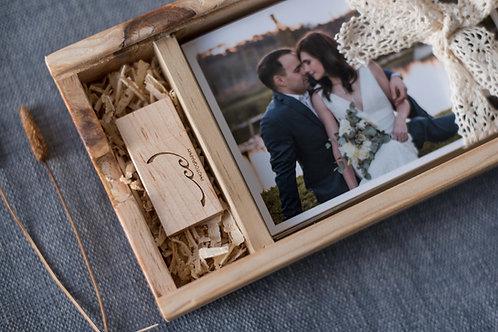 Pine Memory Boxes