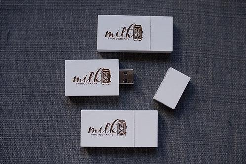 White USB