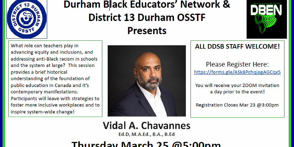 Amplifying Equity and Inclusion with Vidal Chavannes