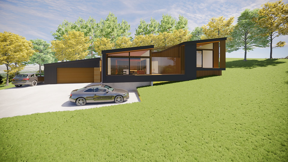Designed By Tony Richardson,Group Arhitecture,Bobs Cove,Queenstown,Otago