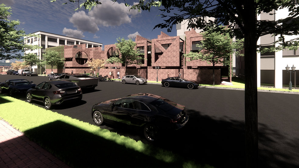 Designed by Tony Richardson,Group Architecture, Apartment Complex