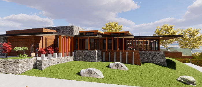 Designed Tony Richardson Group Architecture,New Residence Lake Wanaka in the new Alpha Series, Meadow Stone Estate.