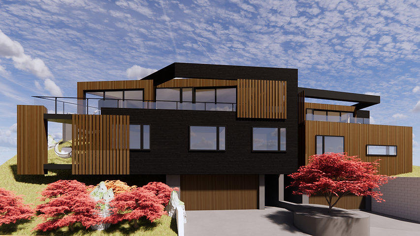 Designed By Tony Richardson,group Architecture, Frankton Apartments,, Queenstown, Otago