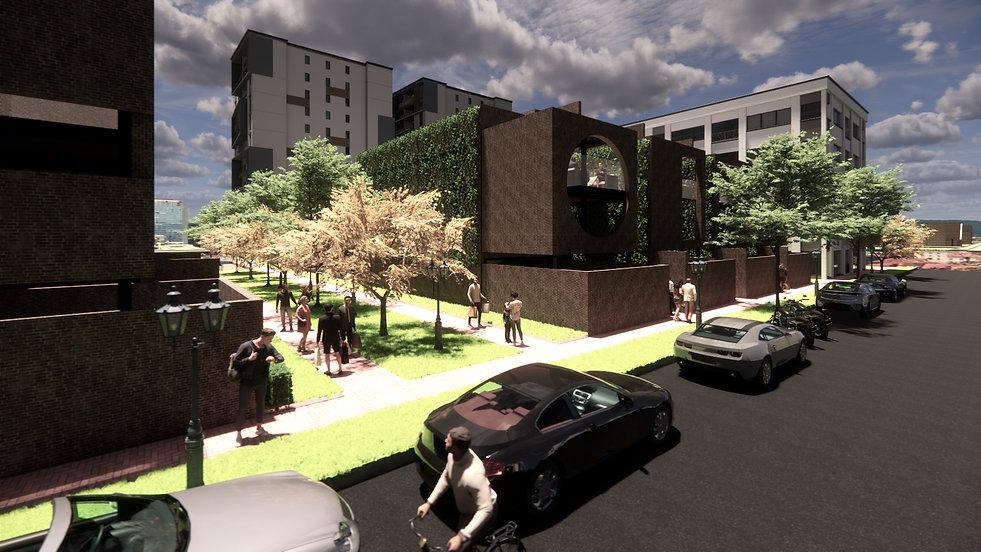 Designed by Tony Richardson,Group Architecture, Apartment Complex