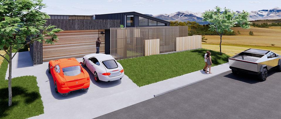 Designed by Tony Richardson,Group Architecture,New Residence in Alpine Estate Lake Wanaka