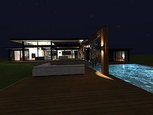 Designed by Tony Richardson,Group Architecture, Forest Heights, Wanaka