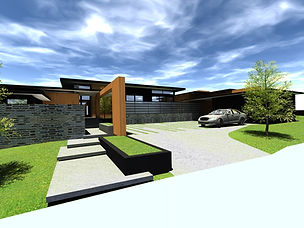 Designed by Tony Richardson,Group Architecture, Forest Heights, Wanaka