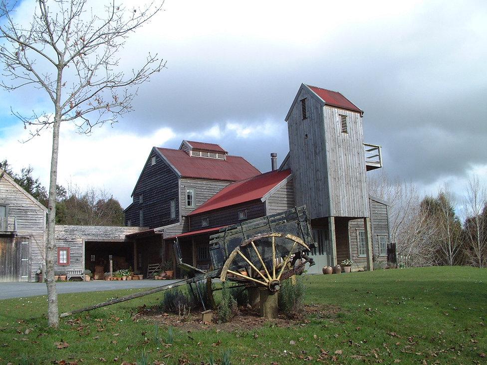 Designed by Tony Richardson ,Group Architecture, Old ,Barn,Hopper House