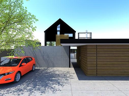 Designed by Tony Richardson,Group Architecture, Lake Wanaka