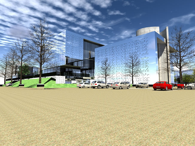 Designed by Tony Richardon, Group Architecture,High Brook Concept, Office Block