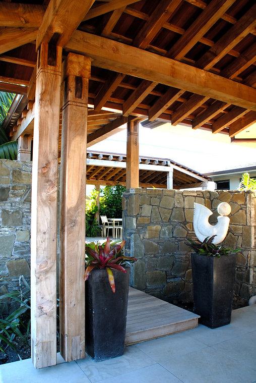 Designed by Tony Richardson,Group Architecture,Courtyard Residence, Auckland Coastal Retreat