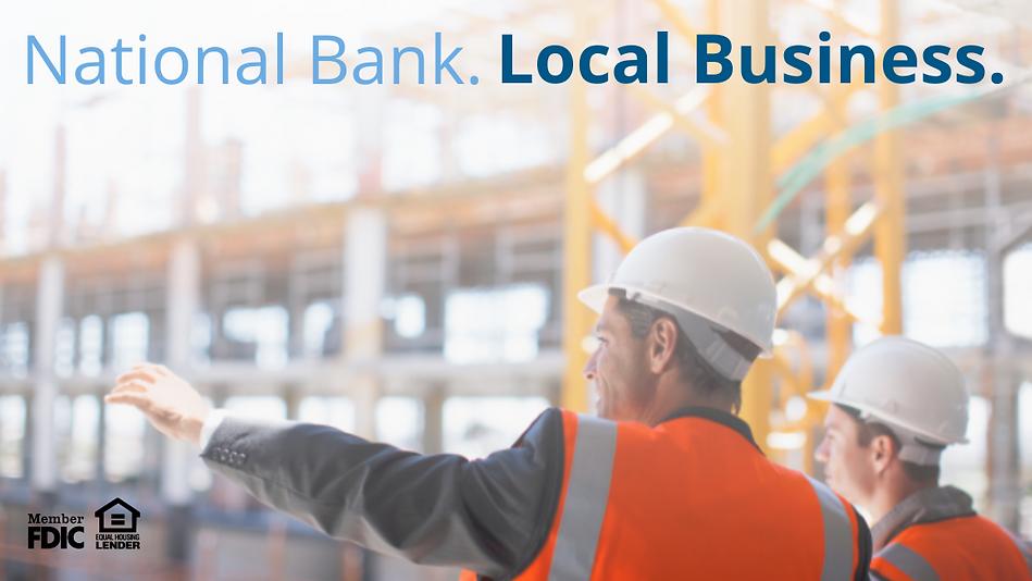 Commercial Lending Landing Page Header (