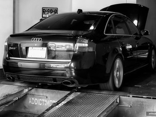 RS6 Dyno Tuning and Mexican Highway Pull