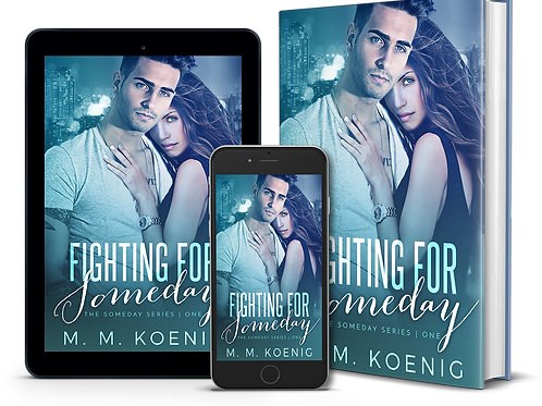 Signed Fighting for Someday Paperback