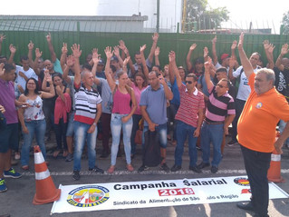 Assembleia de campanha salarial na Kerry do Brasil