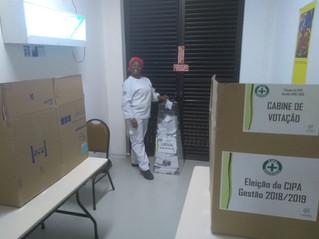 Trabalhadores da Cacau Show elegem nova CIPA