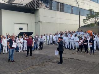 Trabalhadores da Liotécnica aprovam pauta de negociação dos congelados