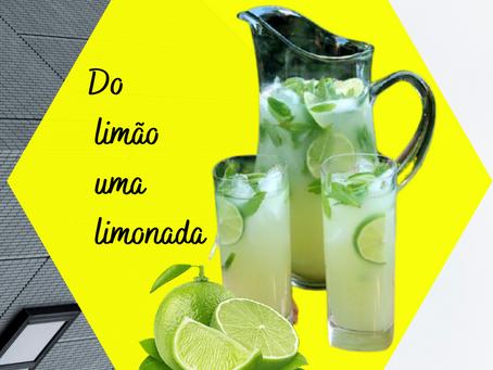 Do limão uma limonada
