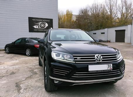 Stage1  Volkswagen Touareg 3.0td 204hp>290hp