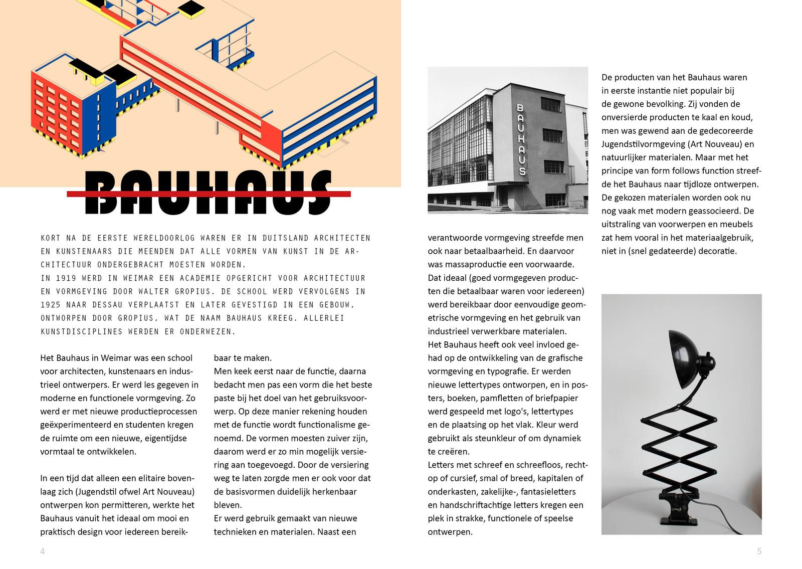 Bauhaus Minimagazine