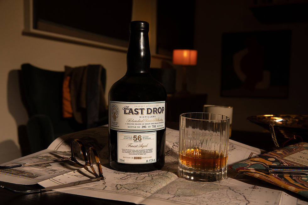 TLD 56 Year Old Blended Scotch Whisky 3.