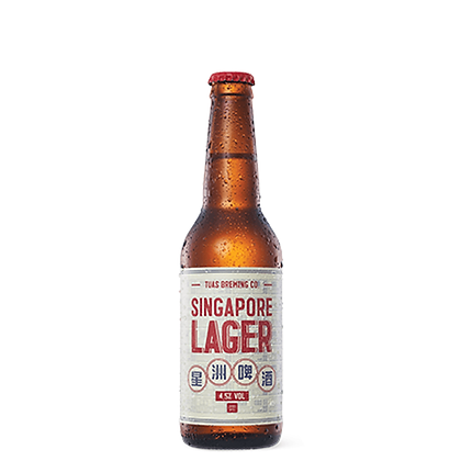 Singapore Lager (Case of 24)