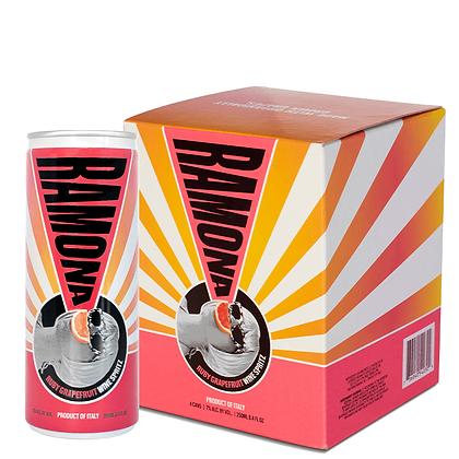 RAMONA Ruby Grapefruit Wine Spritz (4-Pack)