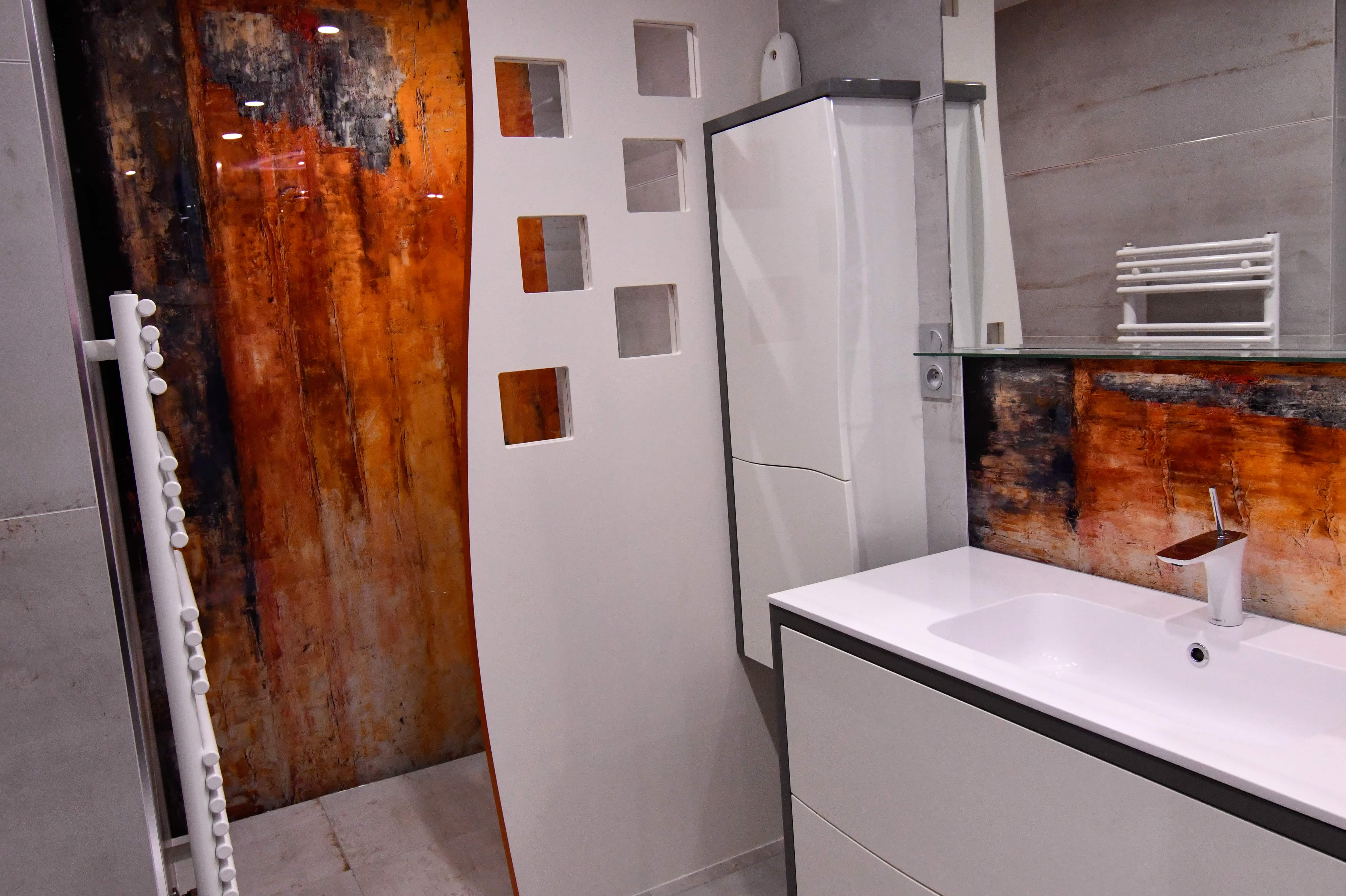 Salle D Eau Parentale atelier créa' design / décoration d'intérieur