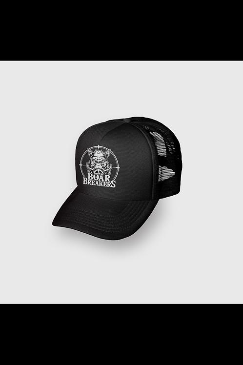 Black Boar Breakers Trucker Cap